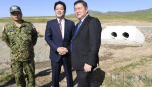 日本首相助理为帮助充实蒙古PKO实施考察