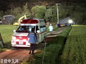 照片集:北海道灾民的惊魂一夜