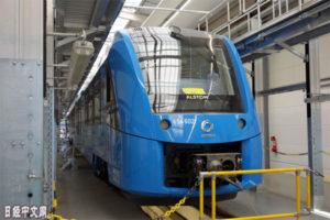 德国在全球首次商业运行燃料电池列车