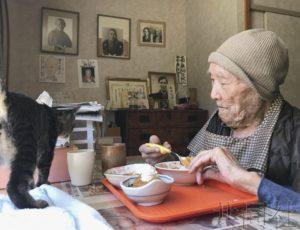 日本百岁老人近7万人连续48年增多 女性占88%