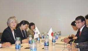 日韩外长确认要完全履行安理会对朝制裁决议