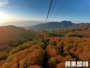 【赏枫啦】日本藏王红叶太迷人!搭缆车赏红色山丘