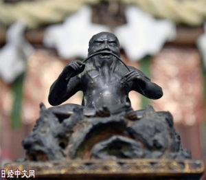 """""""失踪""""150年的神农像重回大阪"""