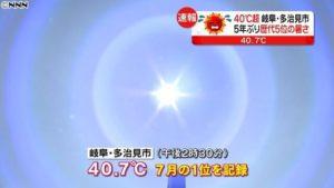 日本今年5-9月共有9.5万人因中暑入院 160人死亡