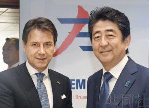 日意首脑确认加强防务合作 携手实现朝鲜无核化