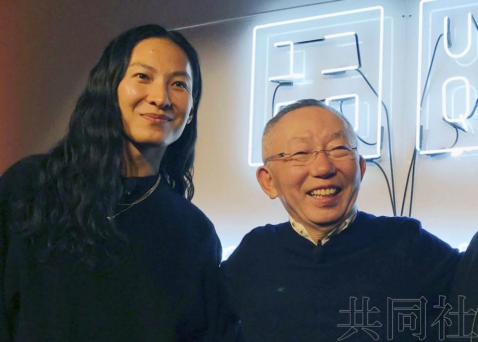 优衣库与美华裔设计师联手打造的新品在纽约发布