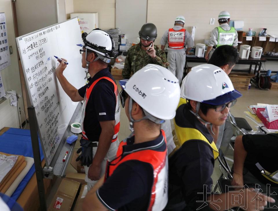 北海道厚真町发生里氏5.2级地震 未发现山体滑坡
