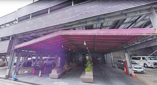 かつてのジュリアナ東京の入り口