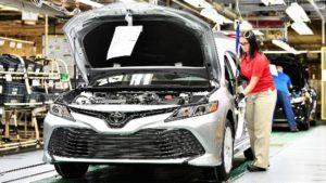 迎合市场趋势 丰田计划在美减产凯美瑞