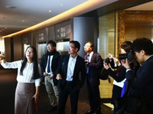 日本新闻代表团结束访华回国