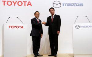 丰田马自达合资工厂12月动工建设 拟2021年投产