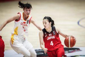 U18女篮亚青赛中国完胜日本夺冠