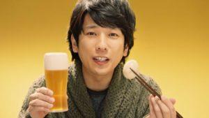 """""""岚""""成员二宫和也与筱原凉子合拍新广告 11月3日播出"""