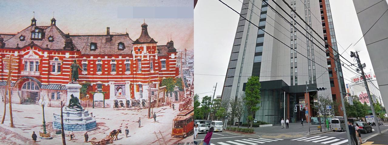 マーチエキュート神田万世橋(旧万世橋駅)の今昔