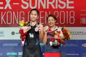 香港赛日本女球手创历史 奥原:奥运备战迎更多信心