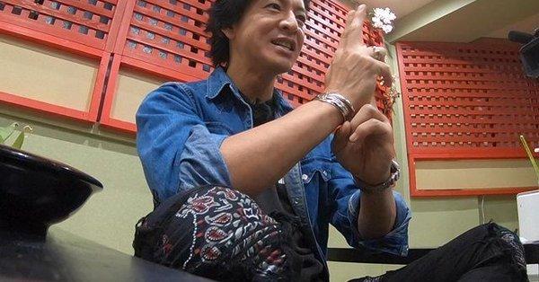 忍者カフェ『不忍(しのばず)』に来店した元SMAP・木村拓哉さん 秋葉原 ninjacafe sinobazu不忍カフェ Twitterから引用
