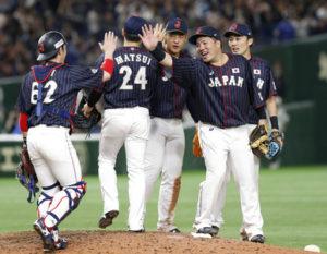 美日职棒对抗日本5胜1负收盘