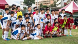 足球/台北水准高山形米泽足球U12训练中心交流