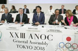 ANOC全体会议在东京开幕 安倍欢迎各国来宾赴奥运
