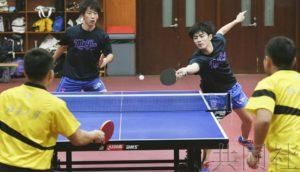 日中乒乓球学生选手交流活动在北京举行
