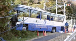 成田附近有中国游客乘坐的大巴出车祸 司机死亡