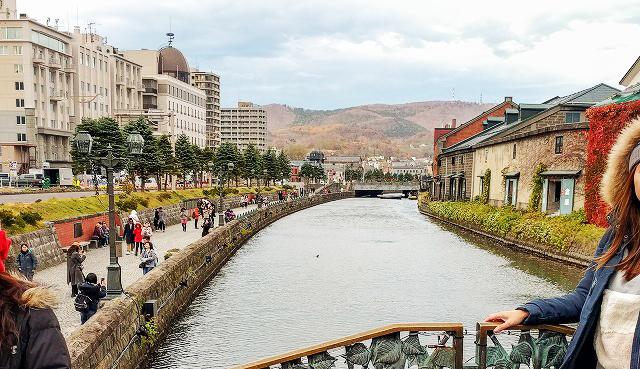 小樽運河定番スポット