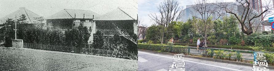 六本木テレビ朝日前の今昔