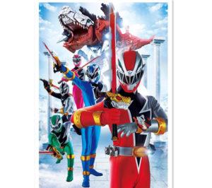超级战队推出第43部新作 《骑士龙战队》3月开播