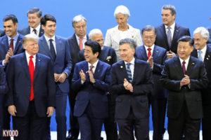 安倍在中美欧俄间开展平衡外交