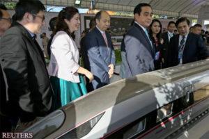 中日第三国合作中消失的泰国高铁项目