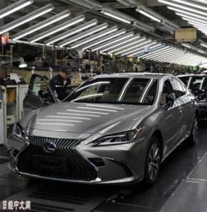 丰田2019年全球销售目标为1076万辆