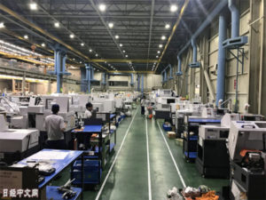 日本机床11月对华出口订单大减67%
