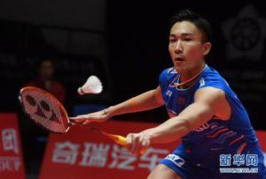 世界巡回赛总决赛小组赛:日本选手桃田贤斗获胜