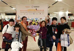 107年来台观光客破1100万幸运儿来自日本