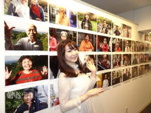 日本美女旅偶步理惠子拍摄台湾人笑容办展