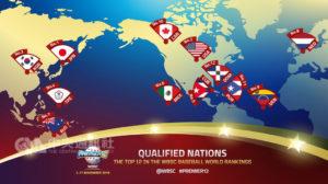 世界12强参赛队伍出炉决赛将于东京巨蛋举行