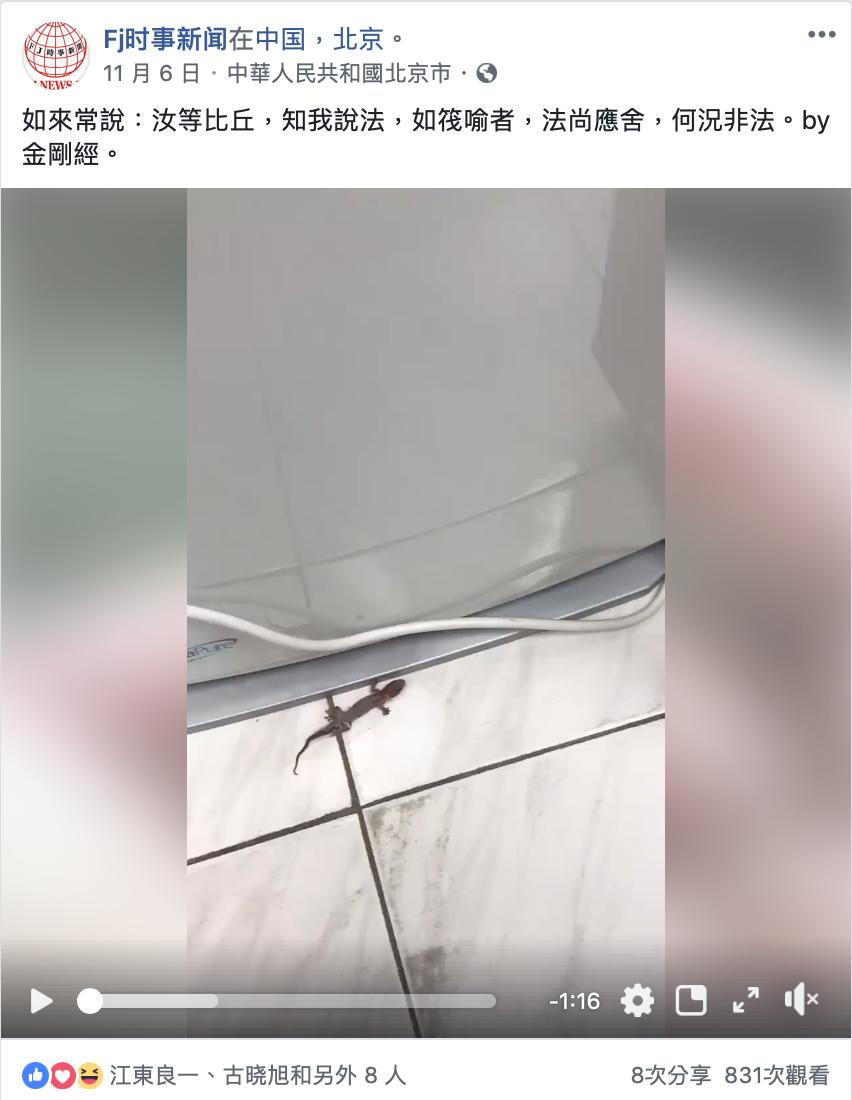 FACEBOOK  Fj时事新闻在中国,北京。 11 月 6 日
