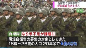 招不到人!日本自卫官延迟退休 潜艇破例用女兵