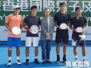 19岁小将许育修台日组合香港直落二夺今年第4冠