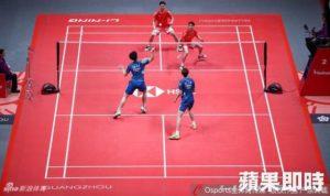 日本名将群起炮轰羽球年终赛中国地垫太湿滑
