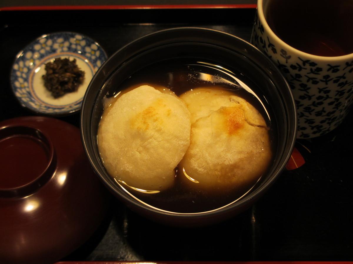 月光しるこ | 月光 お餅と日本茶専門喫茶店 台東区下町根岸・鶯谷HPから引用