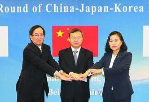 三国经济角色互换 世界贸易环境有变——中日韩FTA重回快车道