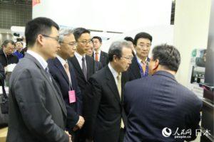 纪念改革开放40周年 中资企业亮相日本第20届环保能源未来展