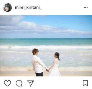 三浦翔平、桐谷美玲平安夜发布合影 已于23日举办婚礼