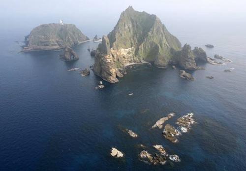 韩国海军在竹岛海域训练 日本强烈要求停止