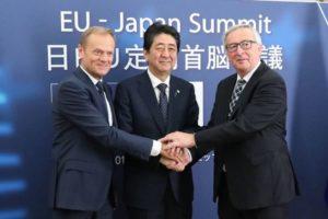 日本国会批准日欧EPA 明年2月或诞生巨大贸易圈