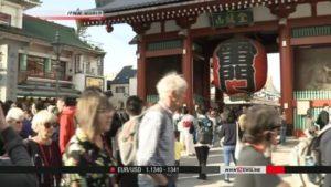 JTB预测2019年访日外国游客将超3500万人