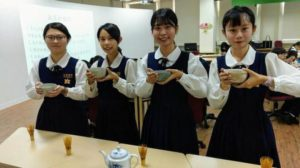 三信家商国际化,体验日本「以茶传道」