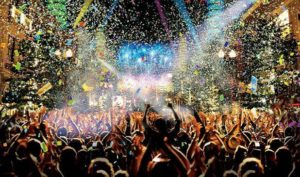 环球跨年派对