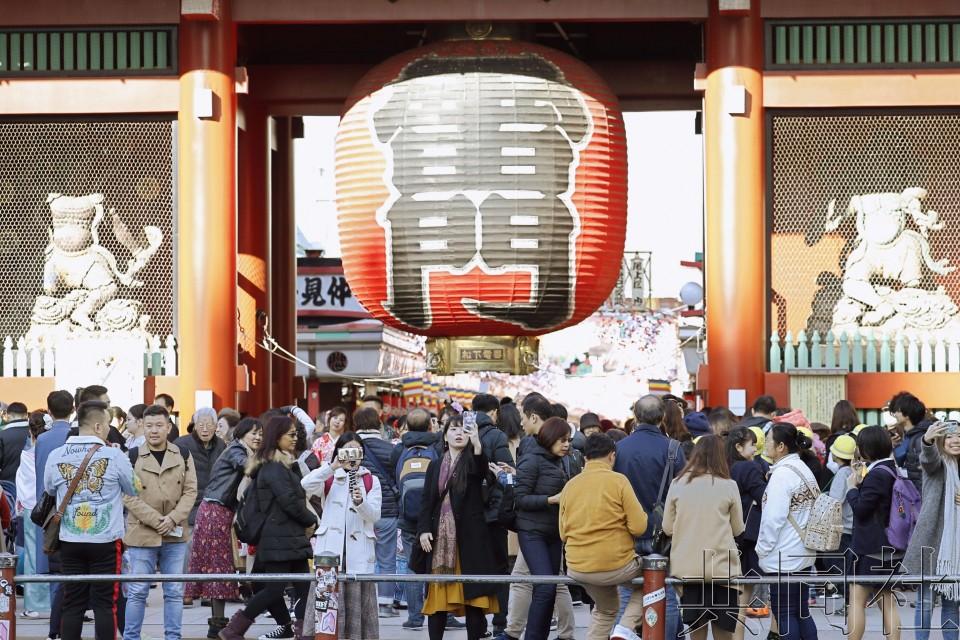 11月访日外国游客约245万人次 增幅未重返灾前水平